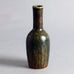 Stoneware bottle vase with brown glaze by Carl Harry Stalhane for Rorstrand