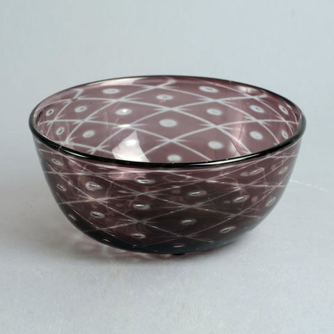 """Graal"" glass bowl by Edward Hald for Orrefors"
