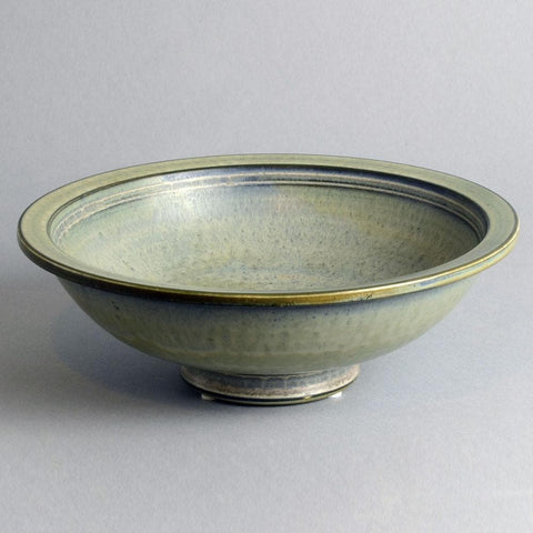 Large gray bowl gunnar Nylund for rorstrand