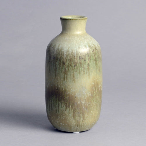 Gray vase by Christian Poulsen for Bing and Grondahl