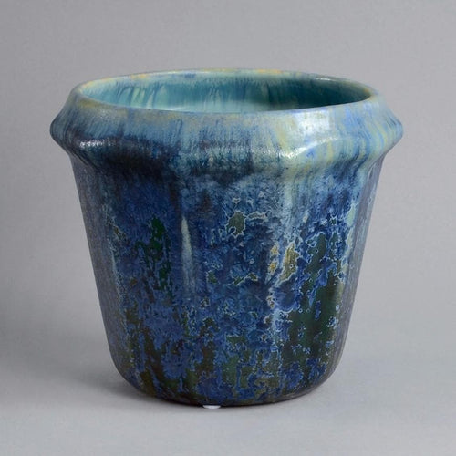 Stoneware planter by Pierrefonds N7536