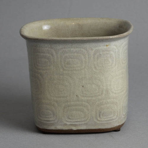 Earthenware vase by Christian Poulson N2660