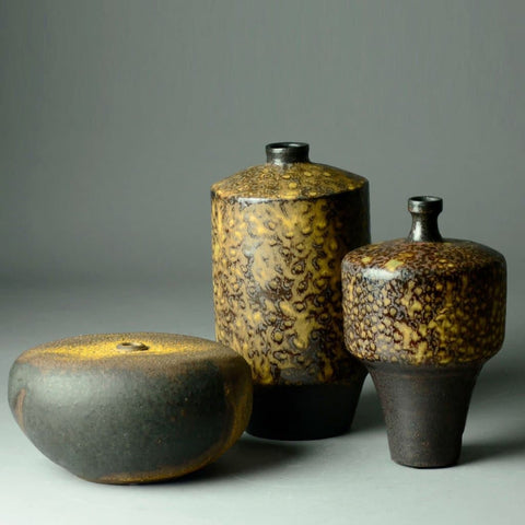 Ceramic Vases by Ingrid and Bruno Asshoff for sale