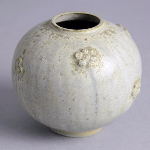 Small round vase by Arne Bang
