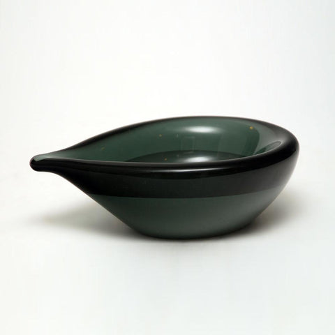 Glass bowl by Willy Johannsen for Hadeland