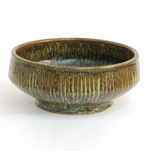 Unique stoneware bowl by Erik Ploen