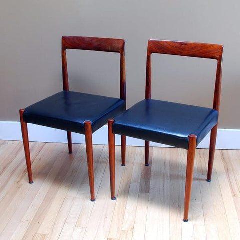 Danish rosewood chairs