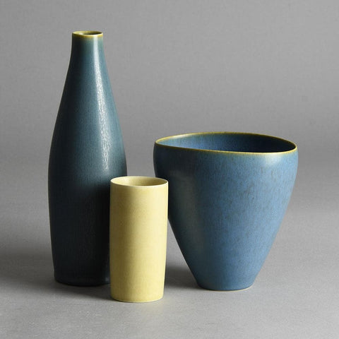 Group of vases by Per Linnemann-Schmidt at Palshus