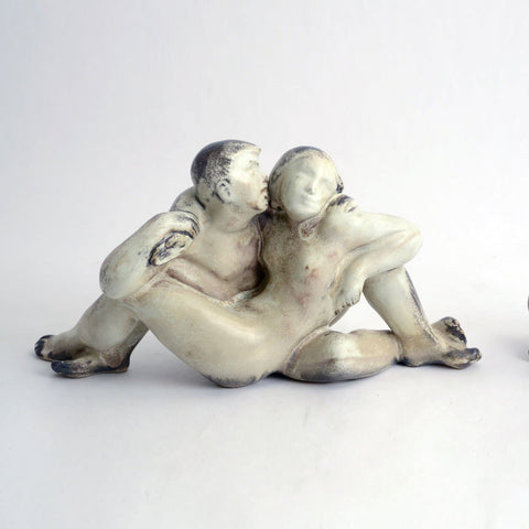 Figure of couple by Michael Andersen and Sons