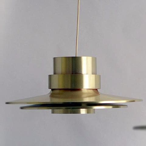 Aluminum hanging lamp by Carl Thore for Granhaga N8756