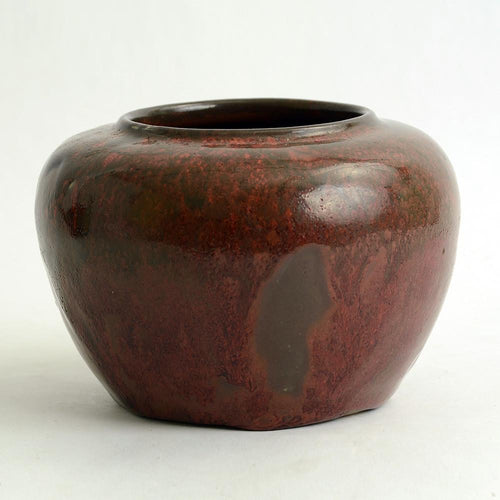 Oxblood vase by Carl Halier for Royal Copenhagen N2309