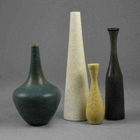 Group of vases by Gunnar Nylund and Carl Harry Stalhane