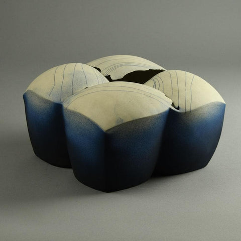 Elisabeth Schaffer, own studio, Germany  Unique porcelain sculptural  vessel for sale