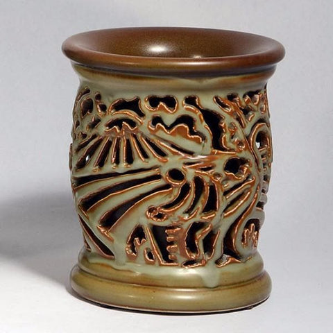 Reticulated vase by Gunnar Nylund for Bing and Grondahl