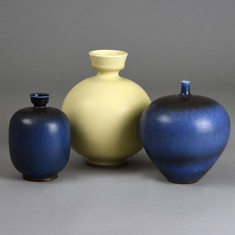 Group of vases by  Berndt Friberg for Gustavsberg
