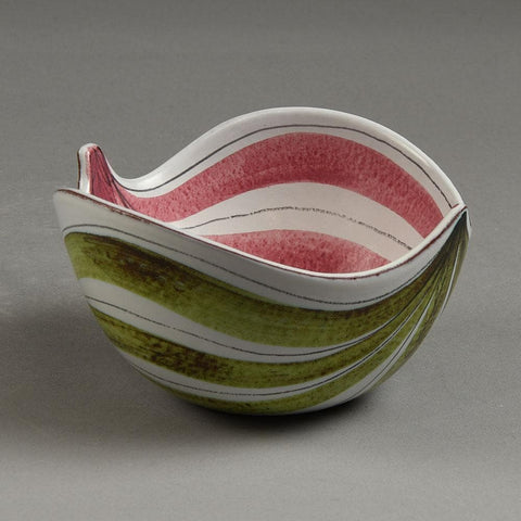 "Stig Lindberg for Gustavsberg ""Faience"" earthenware bowl"