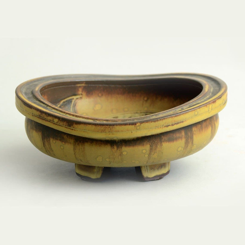 """Farsta "" footed bowl by Wilhelm Kage for Gustavsberg"