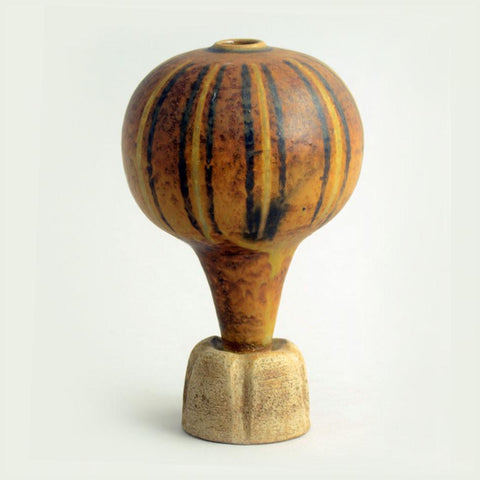 """Farsta "" footed vase by Wilhelm Kage for Gustavsberg"
