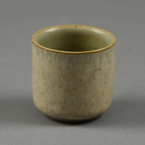 Eva Staehr Nielsen for Saxbo, small cup with off white matte glaze F8182