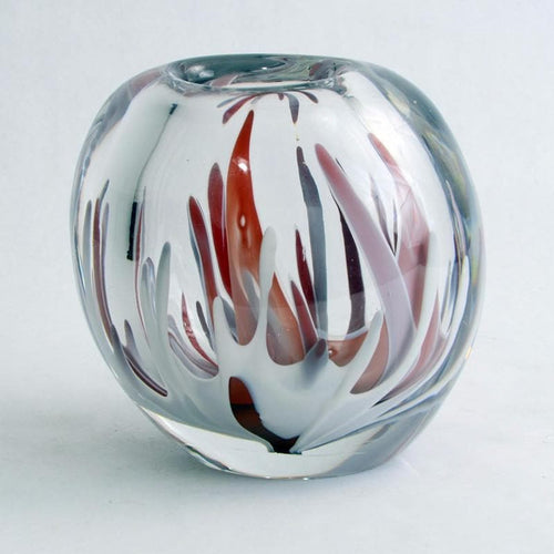 Glass vase by Vicke Lindstrand for Kosta