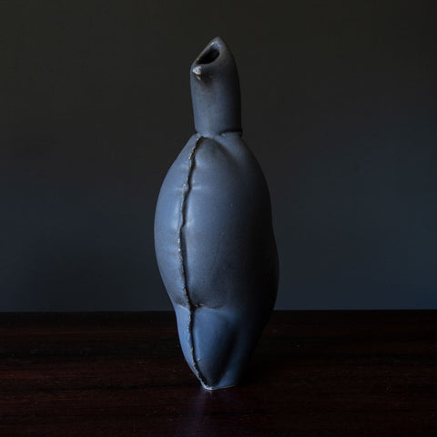Triple gourd vase with oxblood glaze  Axel Salto for Royal Copenhagen