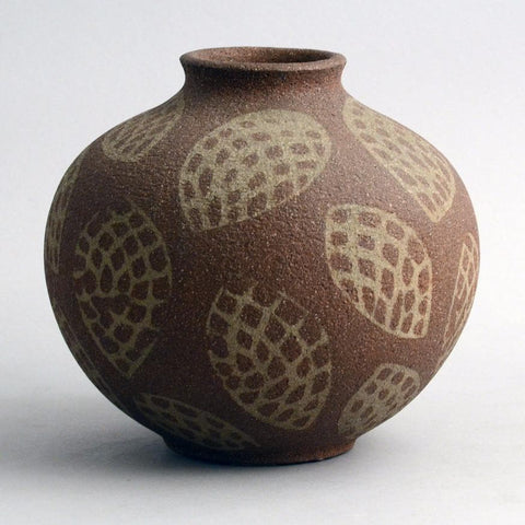 Unglazed living stones vase by Axel Salto for Royal Copenhagen