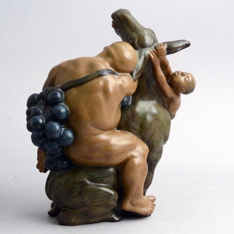 Stoneware figure by Kai Nielsen for Bing and Grondahl