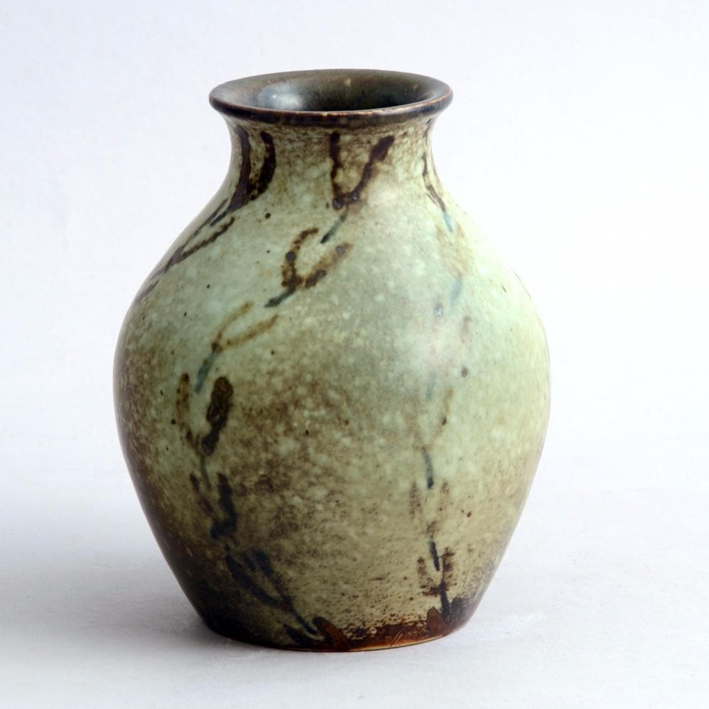 Small Vase by Ebbe Sadolin for Bing and Grondahl