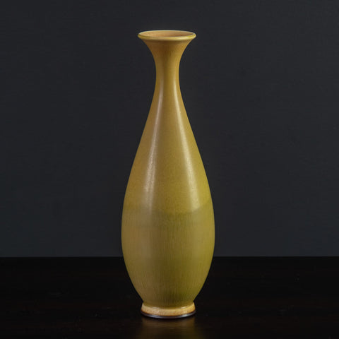 "Axel Salto for Royal Copenhagen ""Budding"" vase with oxblood glaze"