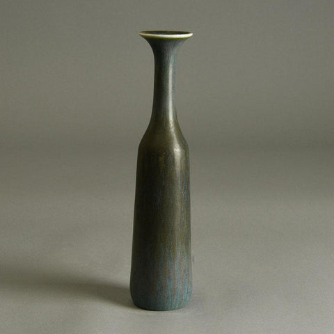 Gunnar Nylund for Rorstrand vase with blue gray glaze for sale