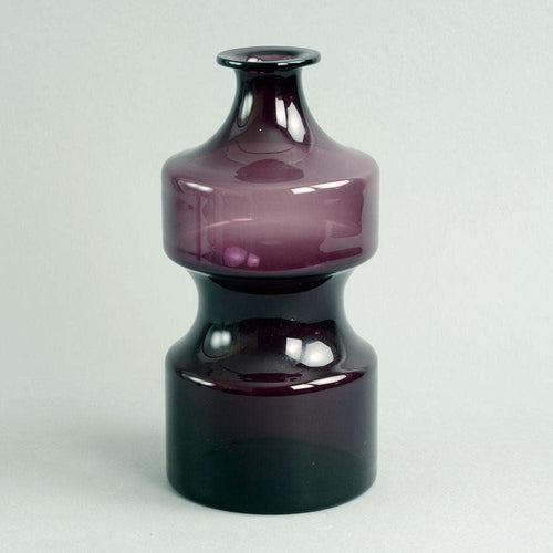 "Purple ""i-glass"" decanter by Timo Sarpaneva for Iittala"