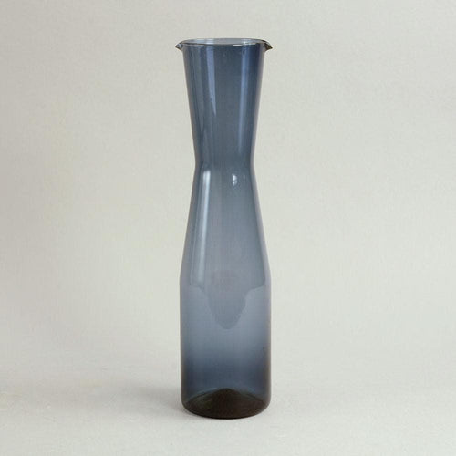 "Blue ""i-glass"" decanter by Timo Sarpaneva for Iittala"