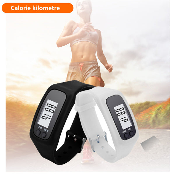 Trendy Casual Digital LCD Pedometer smart Watch