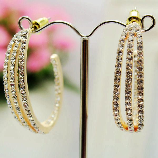 Elegant Big circle Fashion earrings