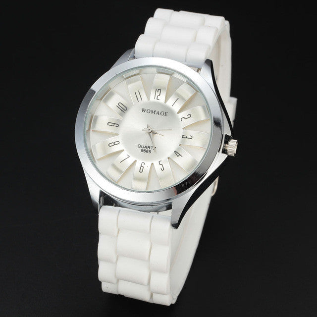 Casual Quartz Stainless Steel Floral Style Watch