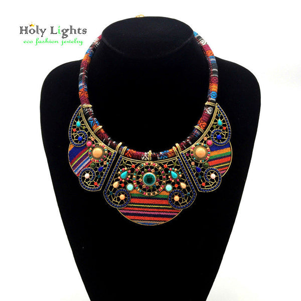 Fashion Bohemia Statement Necklace