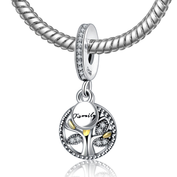 Luxury Style  925 Sterling Silver Charm Pendant