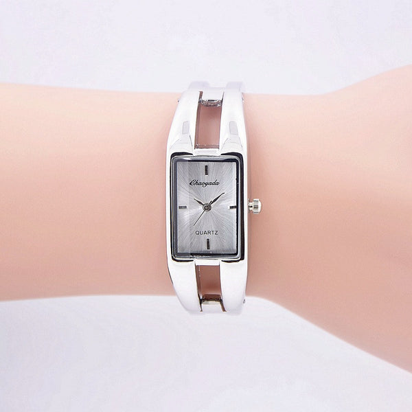 Fashion Round Dial Rectangle shaped Watch