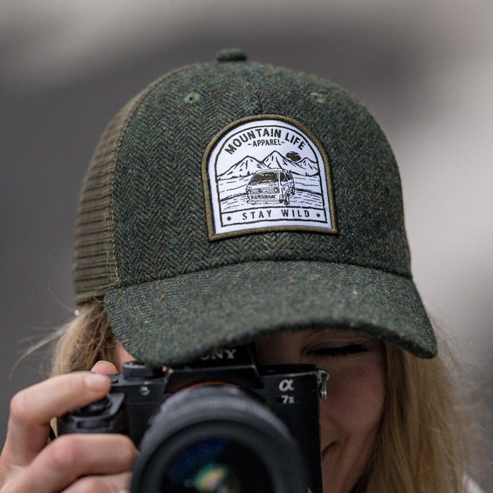 FUNKY FOREST HAT - Mountain Life Apparel