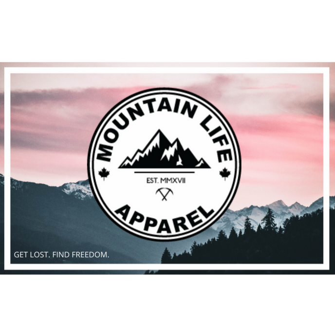 MLA Gift Card - Mountain Life Apparel | Shop Hiking, adventure clothing online!