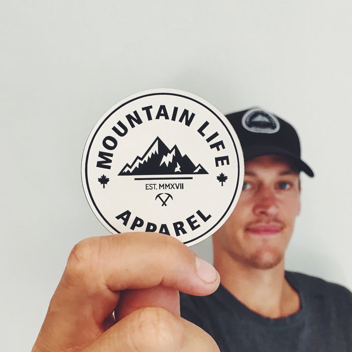 MLA LEATHER PATCH - Mountain Life Apparel