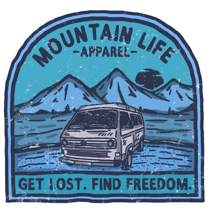 GET LOST. FIND FREEDOM. - Mountain Life Apparel | Shop Hiking, adventure clothing online!