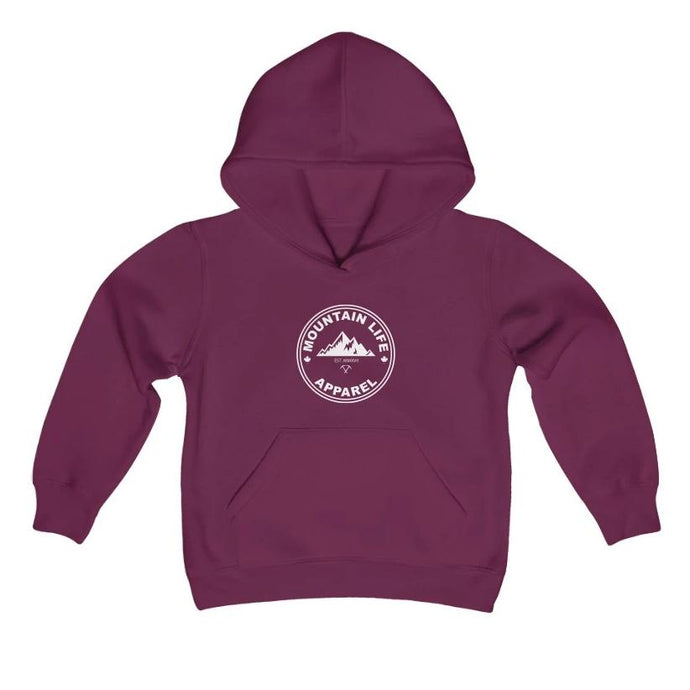 CLASSIC YOUTH HOODIE - Mountain Life Apparel - MTN LIFE