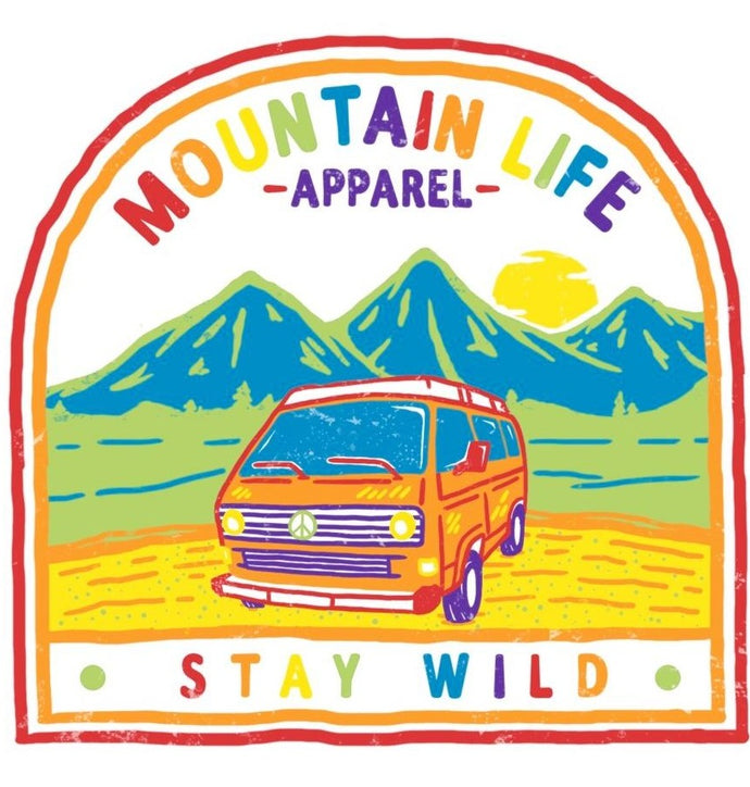 PRIDE STICKER - Mountain Life Apparel | Shop Hiking, adventure clothing online!
