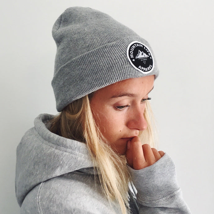 ORIGINAL GREY TOQUE - Mountain Life Apparel - MTN LIFE