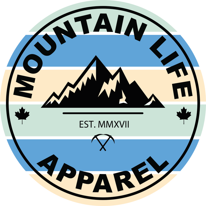 RETRO MLA STICKER - Mountain Life Apparel - MTN LIFE