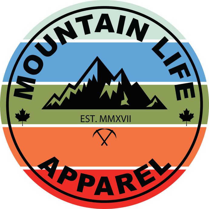MLA COLOR STICKER - Mountain Life Apparel | Shop Hiking, adventure clothing online!