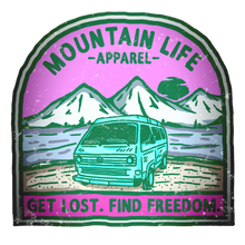GET LOST. FIND FREEDOM. (PINK) - Mountain Life Apparel