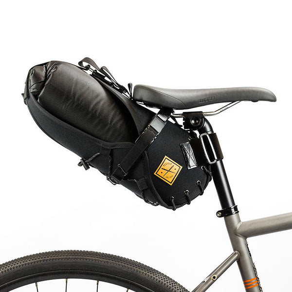 Saddle Bag Holster + Dry Bag ( 8 litres) Black/Black (Distribution)