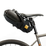Saddle Bag Holster + Dry Bag ( 8 litres) Black/Black